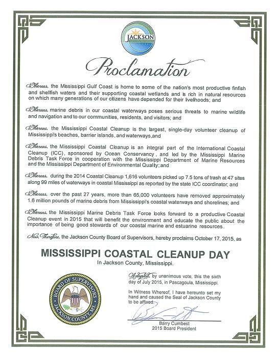 Proclamation - Jackson County