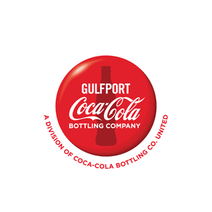 Coca-Cola Gulfport Logo